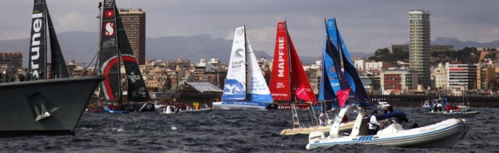 Volvo Ocean Race Старт Фото