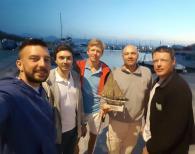 Ruta de la sal Экипаж яхты Сhrono